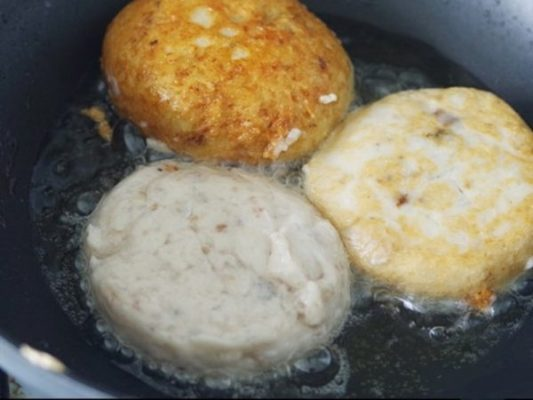How to make delicious crispy Hanoi roasted cinnamon rolls 4