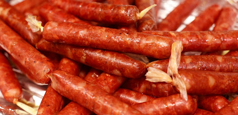 DIY cinnamon sausage for cold days