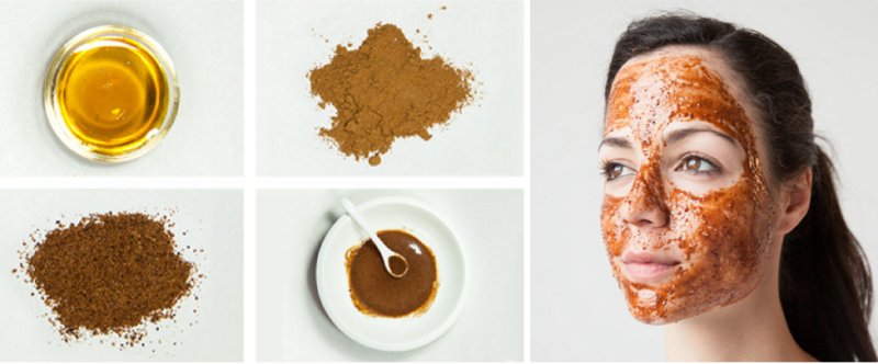 How to make a cinnamon powder mask 1