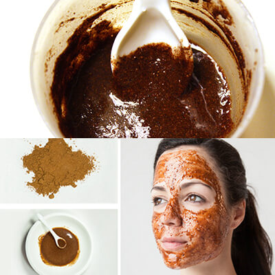 How to make a cinnamon powder mask 4