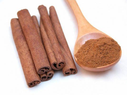 cinnamon powder in cinnamon powder grilled shrimp